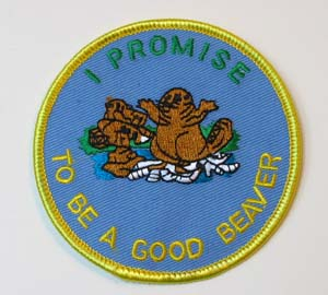 Beaver Promise Patch The Woodbadge Store